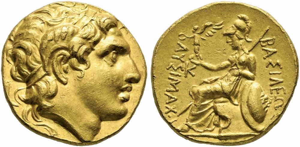 91. Tracia, Lisimaco (323-281 a.C.), statere