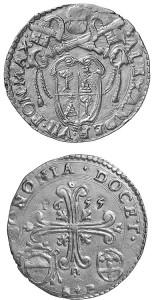 Alessandro VII Bologna doppia 1665
