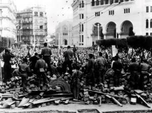 Immagini della rivolta algerina, che durò dal 1954 al 1962.