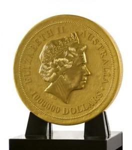 Rovescio della moneta da una tonnellata