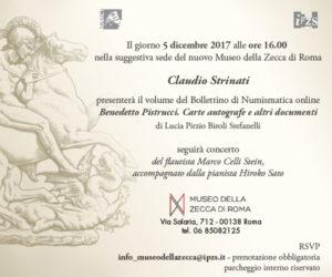 Benedetto Pistrucci e il suo epistolario