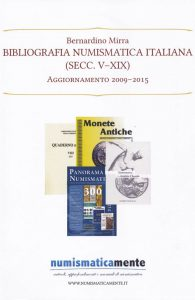 Bernardino Mirra Bibliografia  Numismatica  Italiana