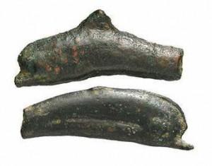 Bronzo fuso (23 mm) V-IV secolo a.C., mondo greco, Olbia.