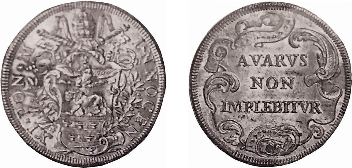 piastra Innocenzo XI
