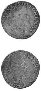 Clemente VII - Doppio bolognino.