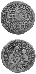 Clemente XI - Carlino 1709