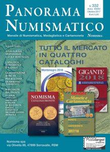 numero di ottobre (a. XXXIV, n. 332) di Panorama Numismatico