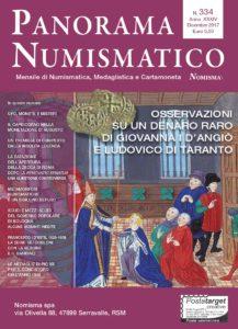 ANORAMA NUMISMATICO nr.334 DICEMBRE 2017