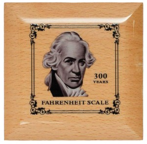Daniel Gabriel Fahrenheit, cofanetto moneta da 5 dollari Palau