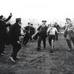 Dorando Pietri, Olimpiade di Londra 1908 arrivo della maratona