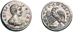 Tetradramma di 14,90 grammi coniata ad Antiochia di Syria