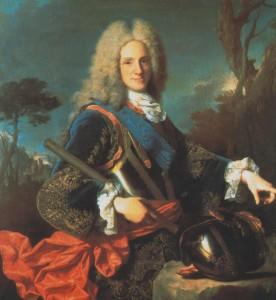 Il re di Spagna Filippo V.