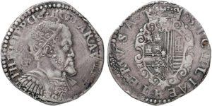 Filippo II mezzo ducato