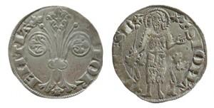 Fiorino grosso da soldi due (popolino) 1306
