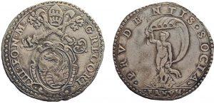 Zecca di Fano, Gregorio XIII, giulio