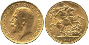 George V 1918 I Bombay