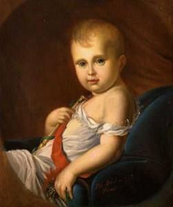 Il Re di Roma, da dipinto del Gérard