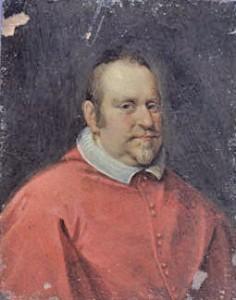 Ritratto del Cardinale Girolamo Colonna, Giacomo Bichi, Madrid, Fundacion Làzaro Galdiano, fonte: dalla rete.