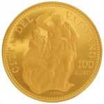 Giudizio Universale Vaticano moneta da 100 euro