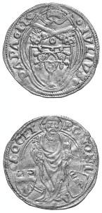 Giulio II - Ducato papale.