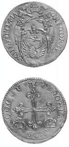 Gregorio XIII Bologna scudo d'oro