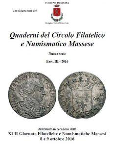 I Quaderni del Circolo Filatelico e Numismatico Massese