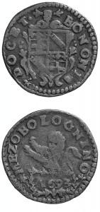 Innocenzo XII - Mezzo bolognino 1793