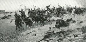 Alla Bicocca - Battaglia di Novara 23 marzo 1849.