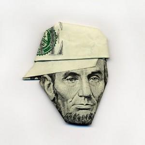 Lincoln origami