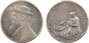 Medaglia 1875 in argento (5,14 g) per Angelo Mariani di Roty (ex asta iNumis 6 maggio 2014)