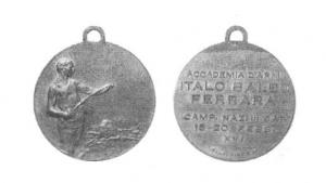 Medaglia Accademia d'Armi Italo Balbo