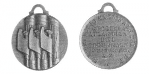 Medaglia Crociera Atlantica del Decennale Luglio-Agosto
