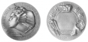 Medaglia LX Annuale della Crociera Aerea