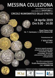 Messina Colleziona, 14 aprile 2019
