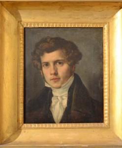 Il ritratto di Michele Laudicina conservato al Pepoli