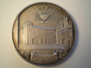 Medaglia dedicata a Pio XII Retro