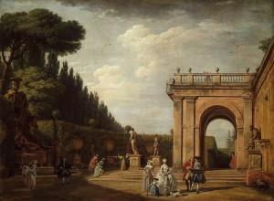 Il parco di Villa Ludovisi a Roma.
