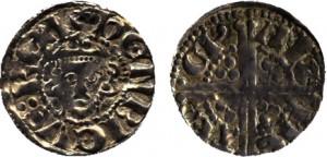 Penny in argento di Enrico III (1216-1272), estremamente raro, tesoro di Bruxelles, asta Baldwin's 77, lotto 2424