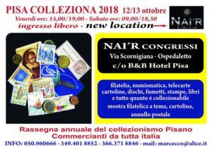 Pisa colleziona 2018