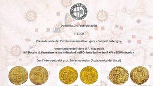 "Circolo Numismatico Ligure ""Corrado Astengo"""
