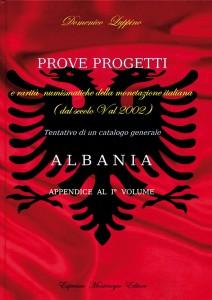 Prove e progetti monete Albania