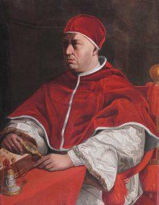 Raffaello, Ritratto del pontefice Leone X