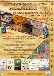 Riccione 2019. Convegno Filatelico Numismatico
