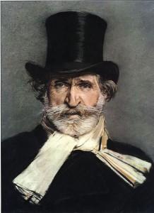 Ritratto di Giuseppe Verdi con cilindro (pastello di Giovanni Boldini, 1886), Galleria Nazionale d'Arte Moderna, Roma