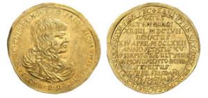 Fiorino d'oro 1672