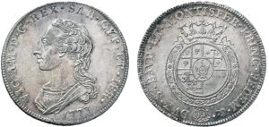 Scudo da 6 lire 1773