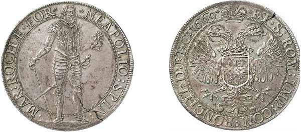 Napoleone Spinola - Scudo 1669