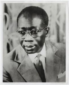 Léopold Sédar Senghor, primo africano a divenire Accademico di Francia.