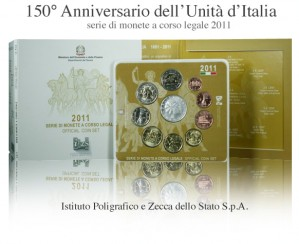 Serie divisionale - 150° Anniversario dell'Unità d'Italia