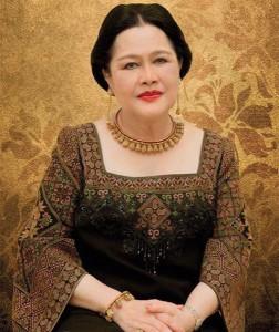 La regina di Thailandia Sirikit